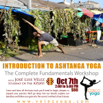 Introduction to Ashtanga Yoga, at Casco Yoga Panama. Casco Viejo. Casco Antiguo. Panama City Panama. José Luis Vélez
