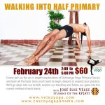 Walking Into Half Primary Ashtanga Workshop at Casco Yoga Panama with Jose Luis Velez. February 24 of 2018. Things to do Panama. Panama City Panama. Casco Viejo. Casco Antiguo. Classes de yoga en Panama. Ciudad de Panama.