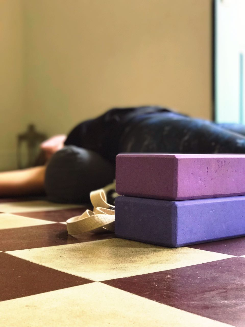 Restorative Yoga. Class every Monday at 7:15 pm. Casco Yoga Panama. Casco Viejo, Panama City, Panama