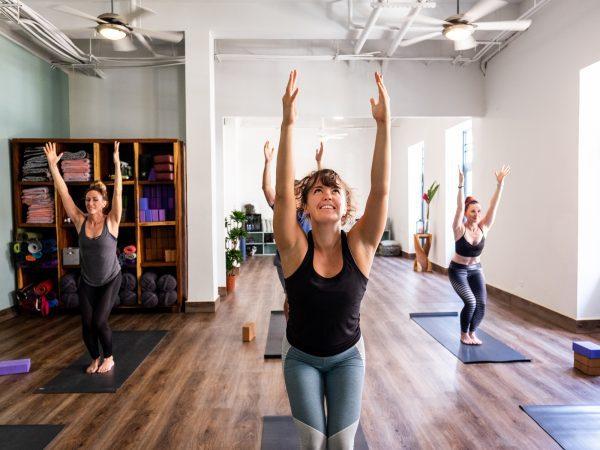 Hot Vinyasa Flow, Hot Yoga Panama, chair pose, Casco Yoga Panama, Yoga Studio. Casco Viejo. Panama City, Panama. Yoga Panama. Ashtanga yoga panama. Vinyasa yoga panama. clases de yoga en panama. Casco Antiguo Panama. boutique yoga studio