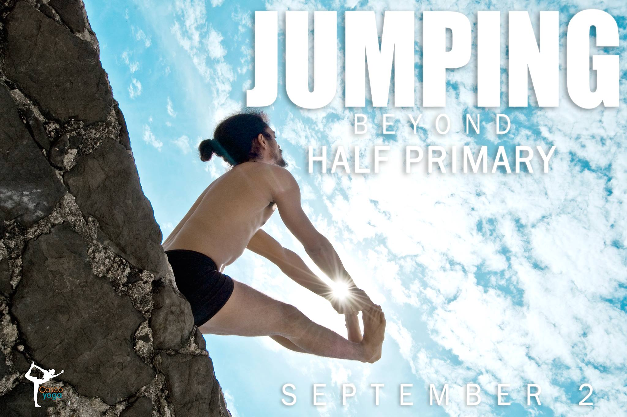Jumping Beyond Half Primary at Caso Yoga Panama, Jose Luis Velez, Casco Viejo, Casco Antiguo, Eventos Panama, Panama Hace Yoga, Ashtanga Panama, Panama City Panama.