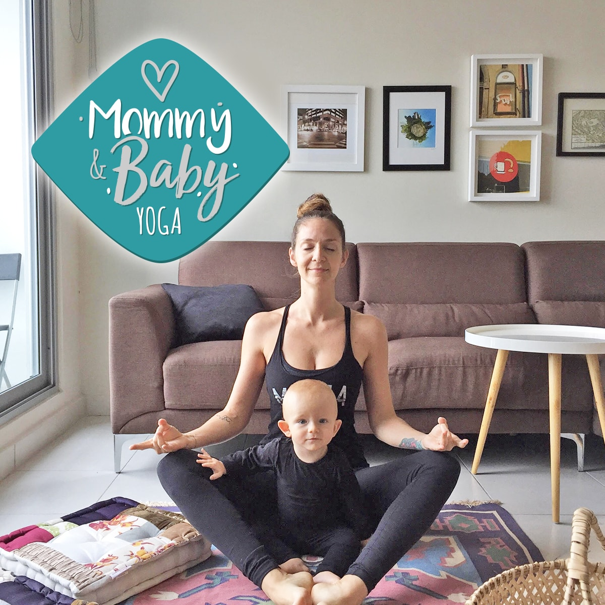 Mommy & Baby Yoga at Casco Yoga Panama with Lauren Spicer. Casco Viejo, Panama City Panama